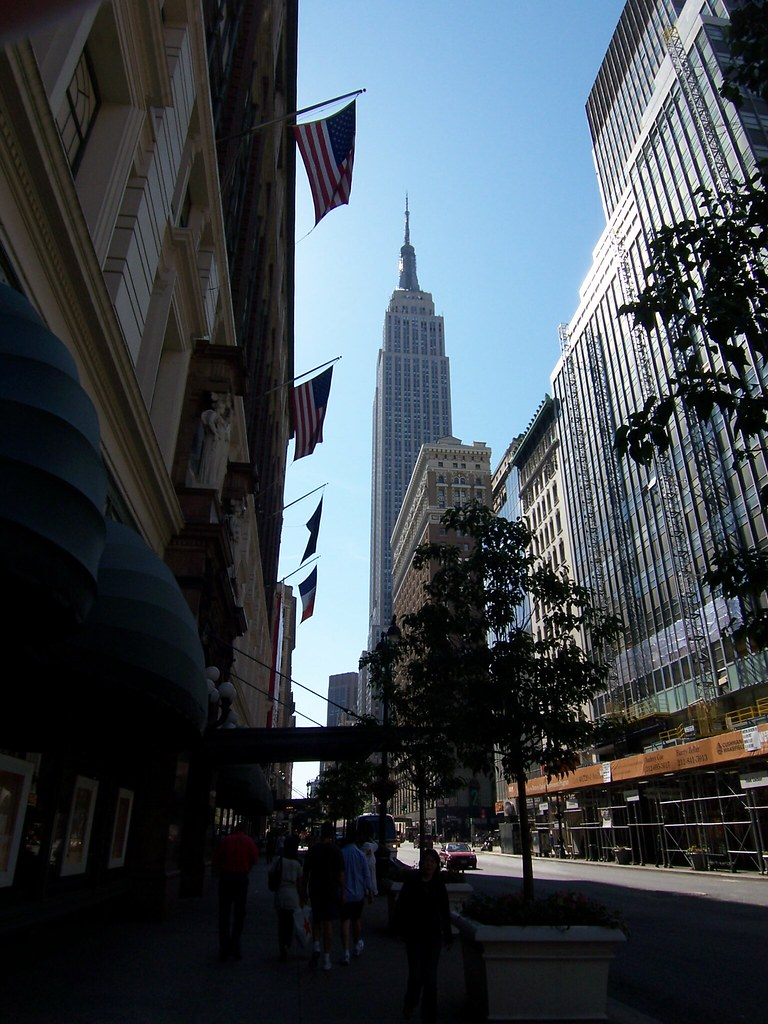 our first landmark: empire state building