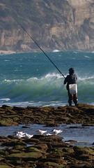 fishing, recreation, ocean, casting fishing, outdoor recreation, recreational fishing, wind, surf fishing, shore, coast,