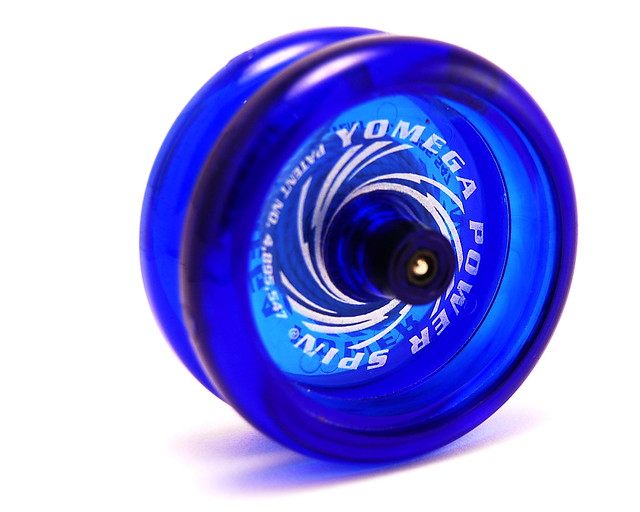 The Power Spin Glow Wing Yo-Yo by Yomega