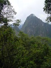 Huayna Picchu from near the entrance to Machu Picchu