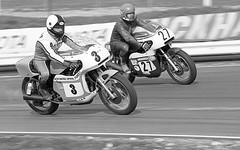 Motorcycle Road Racing from neg. film