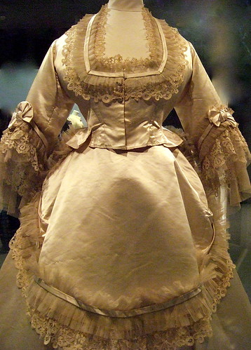 Wedding Dress  E. Gill about 1870