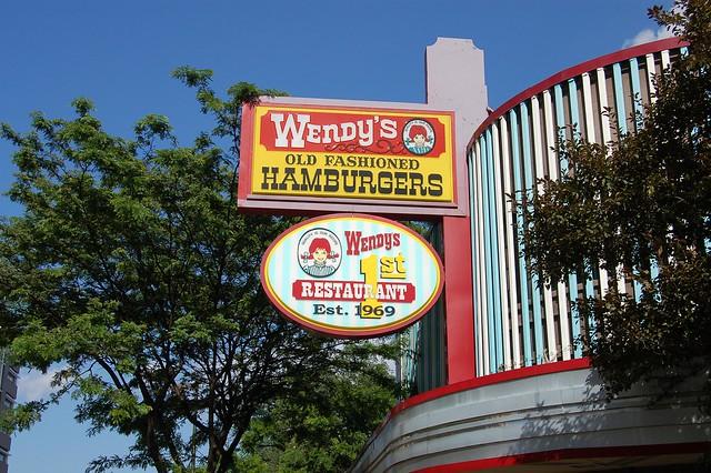 Wendy S Restaurant Near Usps In Davenport Fl On Hwy