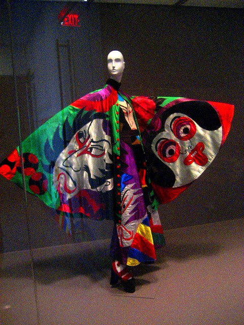 Kansai Yamamoto Fashion In Motion: Kansai Yamamoto @ Philadelphia Musem Of