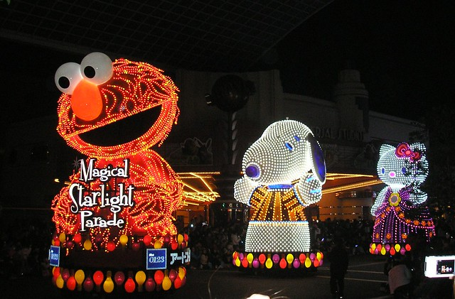 Magical Starlight Parade, Universal Studios Japan, Osaka
