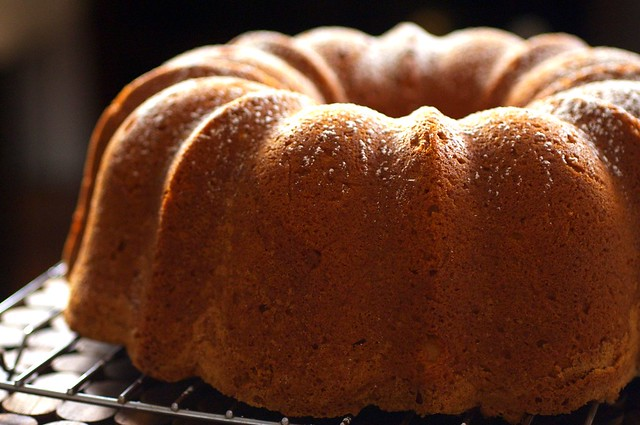 cream cheese pound cake | Flickr - Photo Sharing!