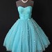 Strapless 50's Prom dress