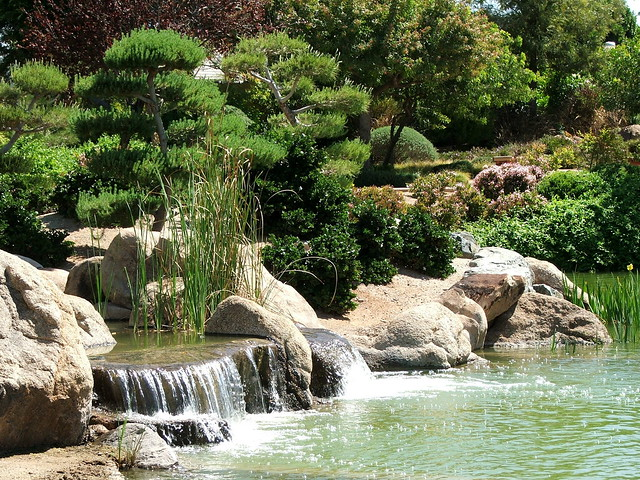 Waterfalls In The Japanese Friendship Garden In Phoenix Arizona Flickr Photo Sharing