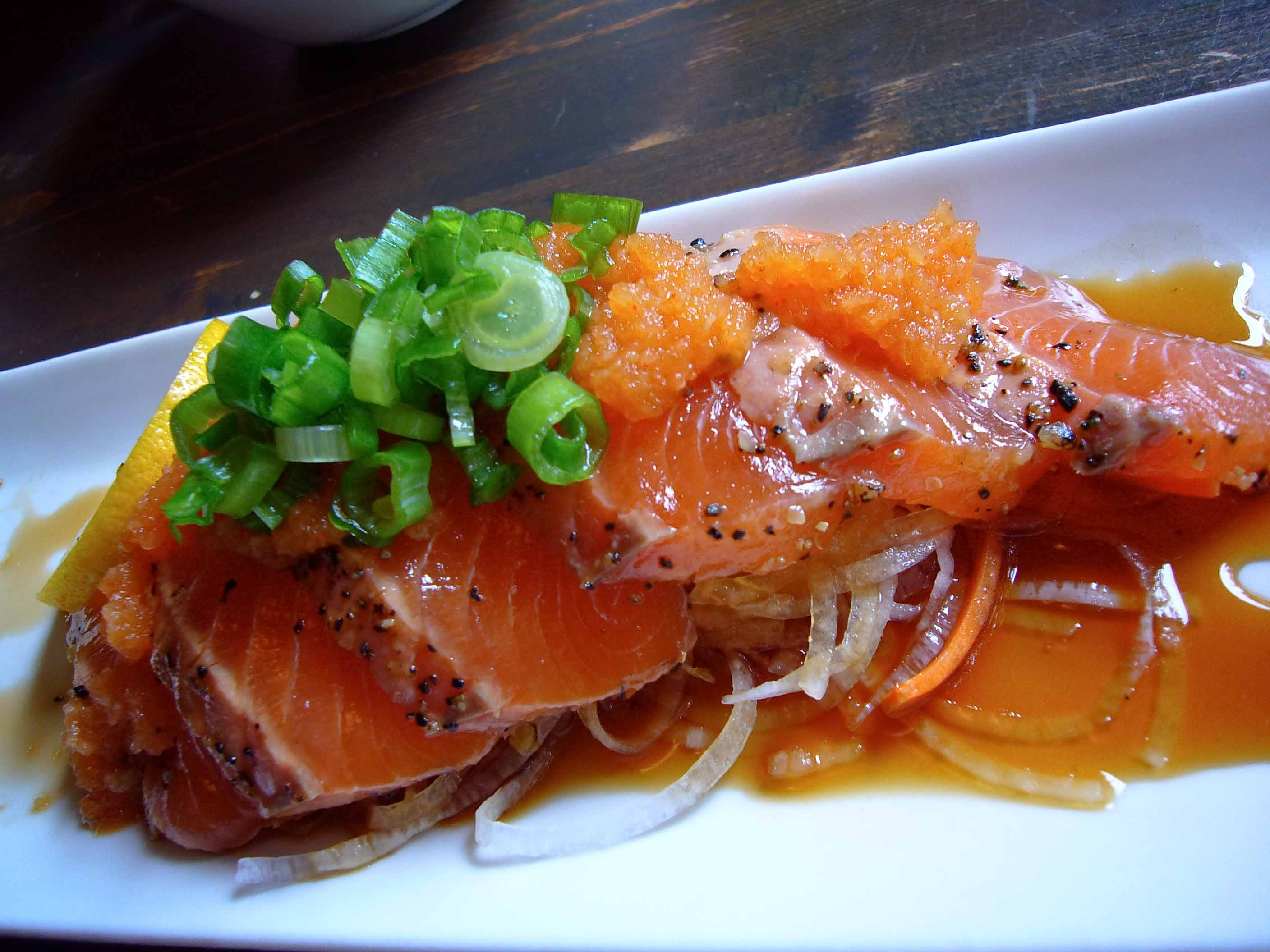 how to make spicy salmon