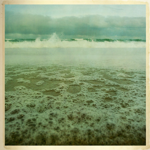 sea newzealand sky cloud beach square sand brighton surf waves bubbles wideangle front explore foam page nz otago bsquare pentaxda14mmf28ed ©borealnz