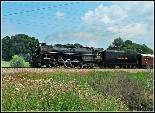 NKP 765 enroute to Train Festival 2009