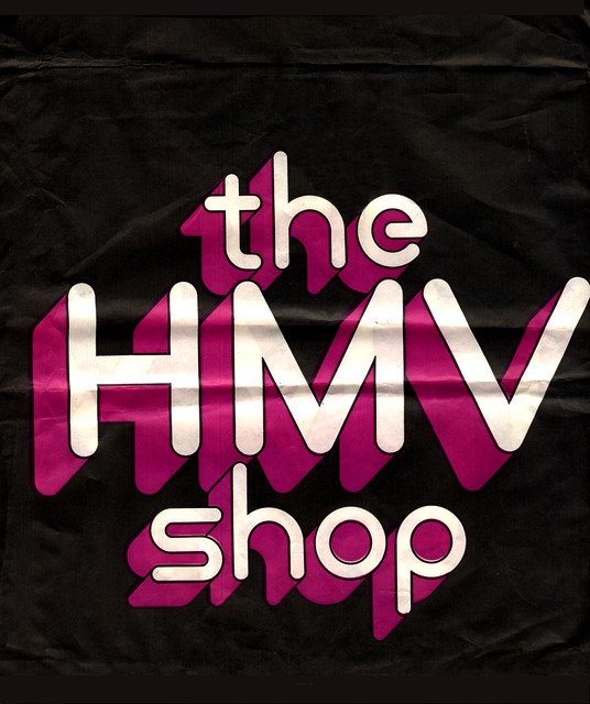 HMV - London - LP Bag - mid 1970s