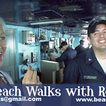 Beach Walk 747 - USS Nimitz Steel Beach #4