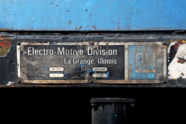 General motors electro motive division gt 22cw for Electro motive division of general motors