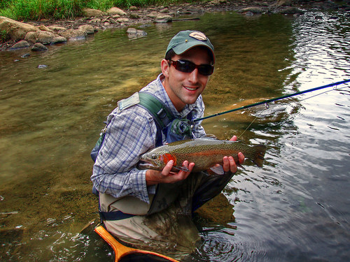 Fly fishing in western maryland backwater angler for Md trout fishing