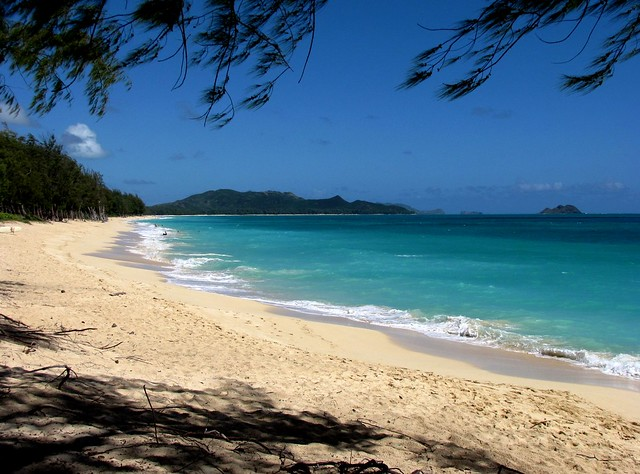 waimanalo bay beach park  oahu  hawaii