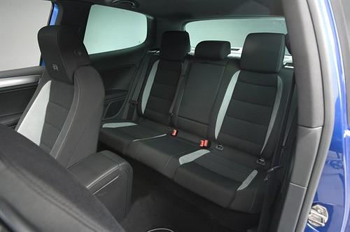VW Golf R Interior Rear