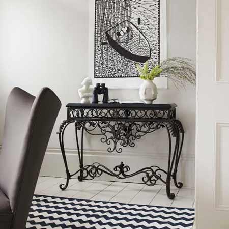 Ideas decoraci n recibidores blancos decoraci n hogar - Recibidores originales reciclados ...