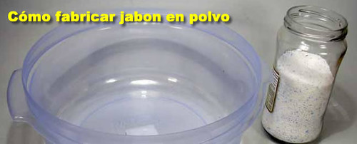 C mo hacer jab n en polvo completo tutorial diario - Fabricar jabon casero ...