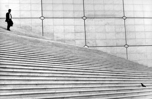 Parigi - Minimalism in Street Photography