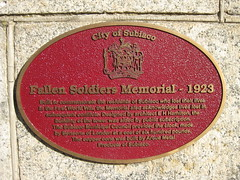 Photo of Red plaque № 6524