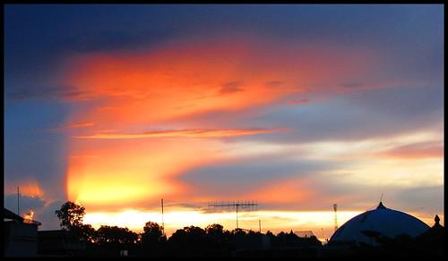 sunset sky jer sulawesi baubau ngurahsatriya