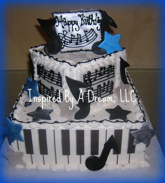 Cake Design For Musician : Musical birthday cake Flickr - Photo Sharing!