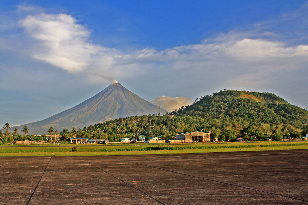 Mayon and Lignon Hill