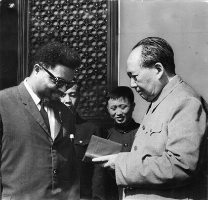 Chairman Mao Tse-Tung and Robert Williams during the 1960s when he was granted political asylum in the People's Republic of China. He returned to the United States in 1969. by Pan-African News Wire File Photos