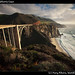 Bridge on California Coast