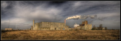 Panorama nuclear power plant AKW Stendal