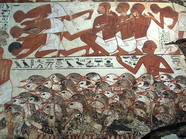 Tomb Of Nebamun Wall Painting