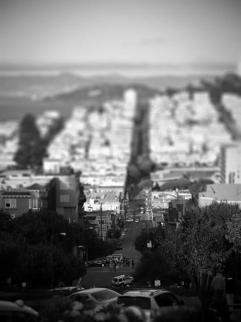 San Francisco Hills (tiltshift edit)
