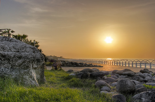 HDR sunset scene, Caspian sea, north of Iran (Explored)