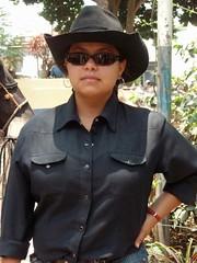 Retrato de una vaquera - Portrait of a cowgirl; Jinotega, Nicaragua