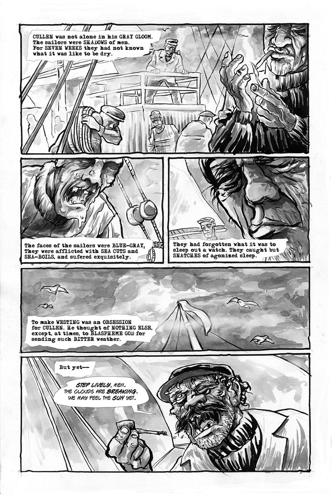 Make Westing page 2 illustrated by Anthony Peruzzo