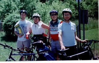 1995 Bike ride to Annapolis