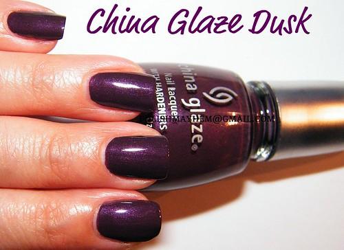 China Glaze Dusk