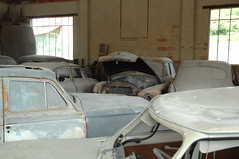 Another overview: eight cars in view