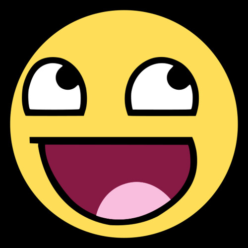 Awesome Smiley Face Emoticon
