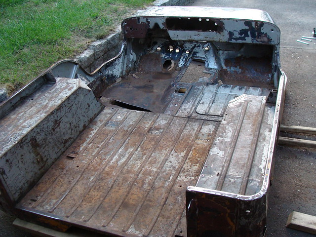 1947 Willys Jeep CJ2A (restoration progress)
