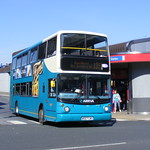 Arriva Yorkshire. 667 W667CWX. Pontefract Bus Station  12th September-2009