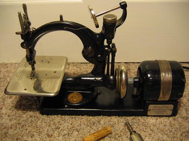 willcox gibbs sewing machine parts