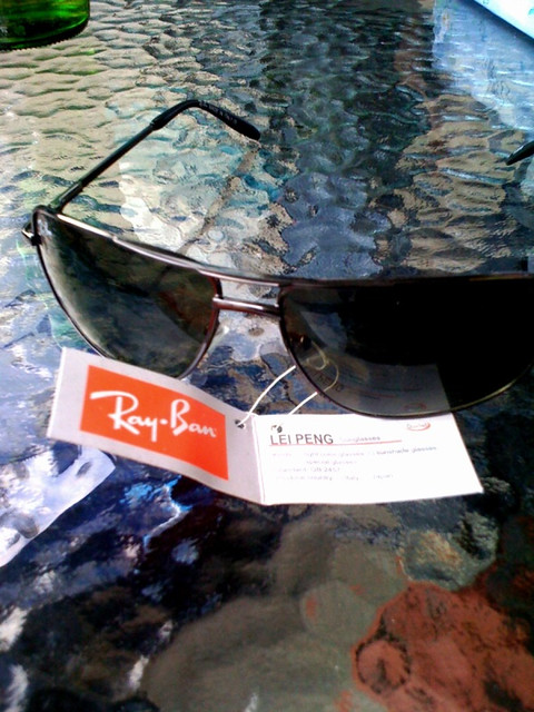 2702285873e Genuine Ray Bans by Lei Peng