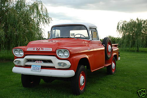 1959 gmc napco 4x4 pickup truck four wheel drive flickr photo sharing. Black Bedroom Furniture Sets. Home Design Ideas