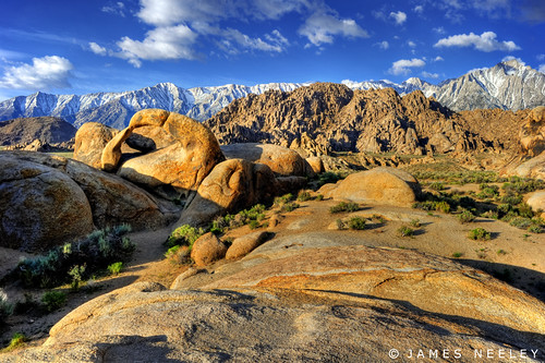 california landscape lonepine hdr easternsierra alabamahills 5xp mobiusarch jamesneeley
