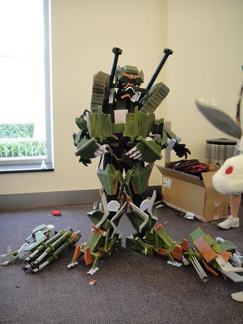 BotCon 2011 - Transformers cosplay Brawl