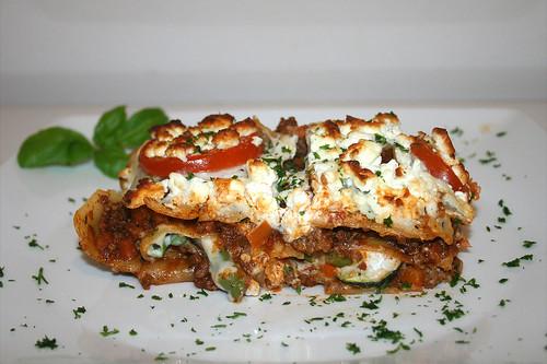 83 - Griechische Lasagne - Seitenansicht / Greek Lasagna - Side view