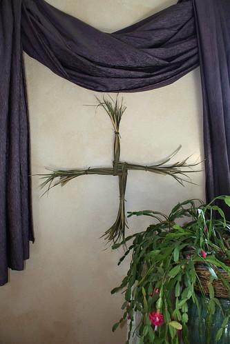 Brigit's Cross - Happy Imbolc / Candlemas / St. Brigid's day