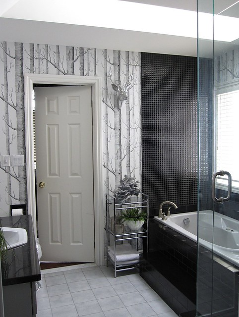 Bathroom Black White Gray By Www Housewears Ca Flickr